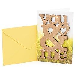 Hallmark Signature Anniversary Card (Wooden You & Me)