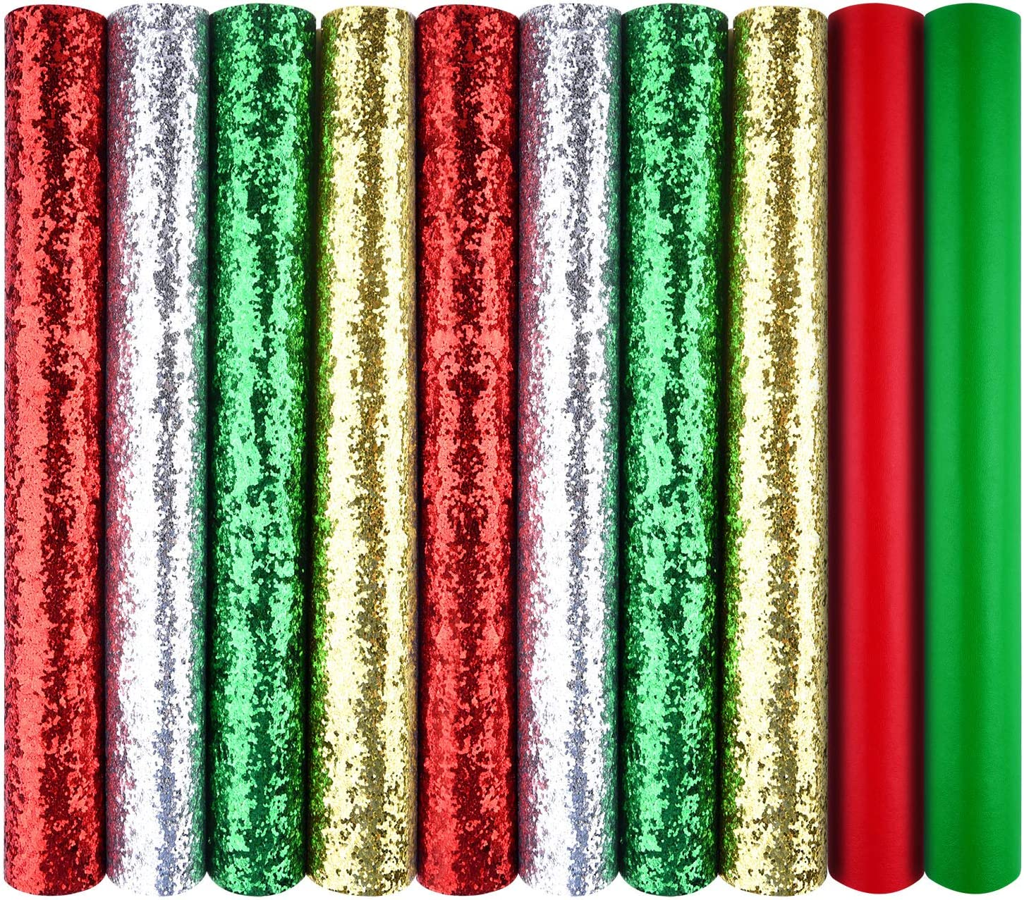 MIAHART 10 Pack Christmas Faux Leather 4 Fa Popular products Shining Today's only Colors Sheet