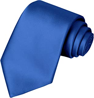 KissTies Boys Tie Satin Necktie For Teens Ties + Gift Box