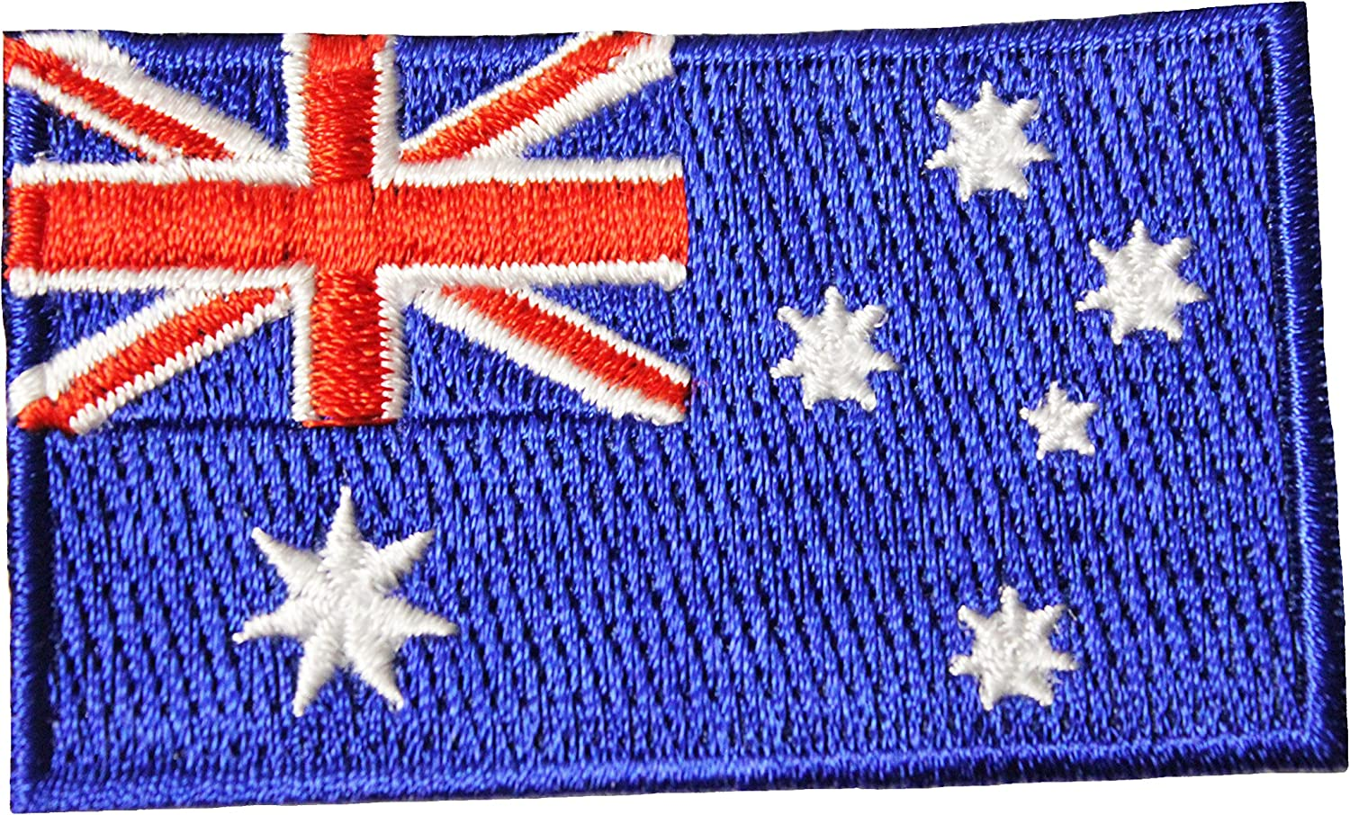 Australia Country Flag Seattle Mall Embroidered Low price Iron Badge. on Si Crest Patch