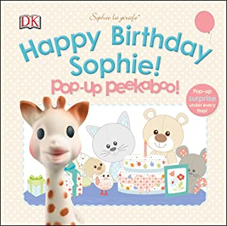 Sophie la girafe: Pop-up Peekaboo Happy Birthday Sophie!: Pop-Up Peekaboo!