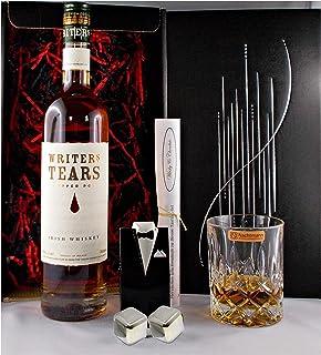 Geschenk Writers Tears Irischer Whiskey  Whisky Glas  2 Kühlsteine