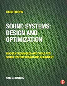 Sound Systems: Design and Optimization, 3rd Edition from Focal Press and Routledge
