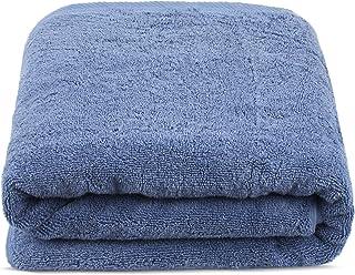 Turkuoise Premium Quality Bath Sheet, Extra Large, 100% Turkish Cotton (Wedgewood, 40x80 Inches)