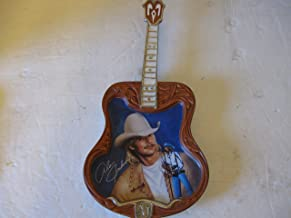 Alan Jackson Guitar Collector Plate Where I Come From Limited Edition Bradford Exchange First Issue in Alan Jackson Country Legend Series