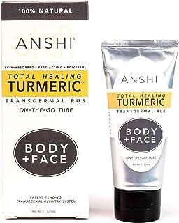 ANSHI Total Healing Turmeric Transdermal Rub On The Go Tube