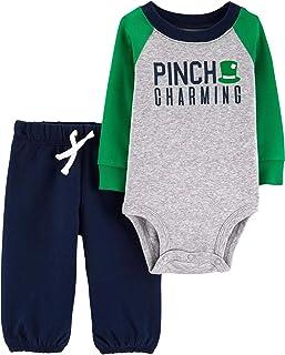 Baby Boys' Luckiest Baby Bodysuit and Pants Set