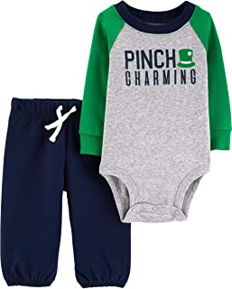 Carter's Baby Boys' Luckiest Baby Bodysuit and Pants Set