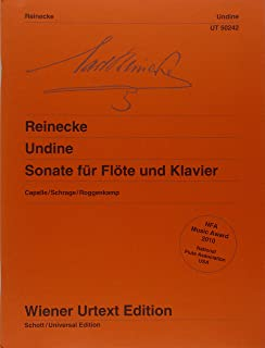Best reinecke sonata undine for flute and piano Reviews