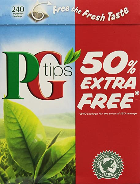 Pg Tips Tea Bags 240 Count Pack Of 2