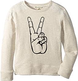 Appaman Kids - Contra Sweatshirt - Peace (Toddler/Little Kids/Big Kids)