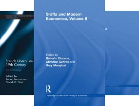 Routledge Studies in the History of Economics (101-150) (50 Book Series)