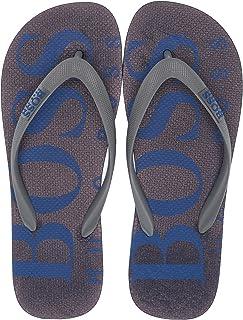 Hugo Boss Men's Wave Thong Rubber Sandal Flip-Flop