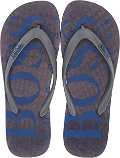 Hugo Boss Men's Wave Thong Rubber Sandal Flip-Flop