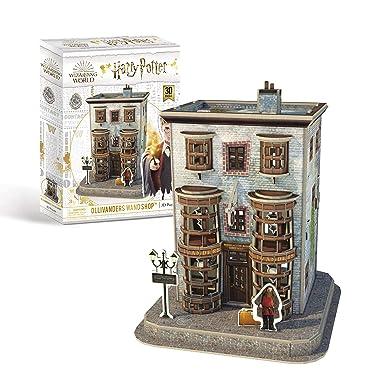 University Games 7595 Harry Potter Diagon Alley Olivanders Wand Shop 3D Puzzle