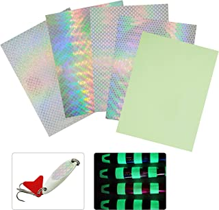 Fishing Lure Sticker Fish Scales Tape Holographic Adhesive Tackle Fishing Fly Tying Lures Crafts DIY