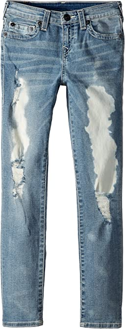 True Religion Kids - Rocco Single End Jeans in Roar Wash (Big Kids)
