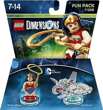 Dc Comics Wonder Woman Fun Pack - Lego Dimensions