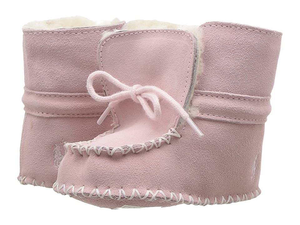 Polo Ralph Lauren Kids Pocono (Infant) (Light Pink Suede) Girl