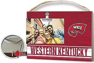 KH Sports Fan Clip It Colored Logo Photo Frame Western Kentucky Hilltoppers