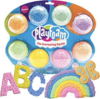 Educational Insights Playfoam Combo 8 Pack   Non-Toxic, Never Dries Out   Great For Slime   Perfect For Ages 3 & Up