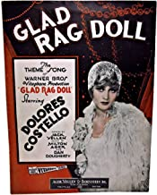 GLAD RAG DOLL The THEME SONG of WARNER BROS Vitaphone Produciton