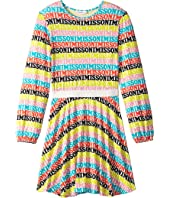 Missoni Kids - Printed Logo Dress (Big Kids)