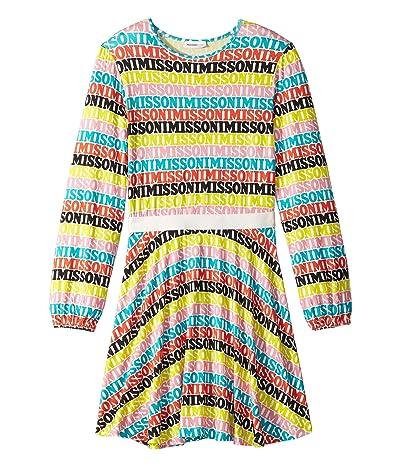 Missoni Kids Printed Logo Dress (Big Kids) (Multi) Girl