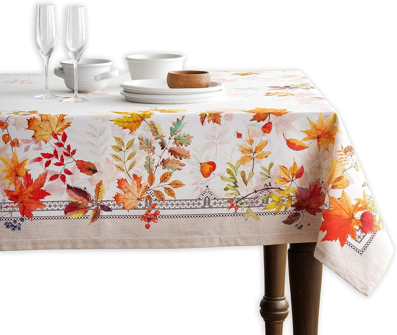 Maison d' Hermine Amarante 100% Kitchen for Tablecloth Di 25% OFF Cotton Daily bargain sale