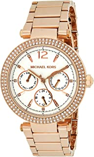 Women's Parker Rose Gold Tone Stainless Steel Watch MK5781