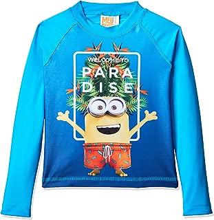 Camiseta Praia Manga Longa Minions, TipTop