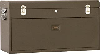 Kennedy Manufacturing 526B 8-Drawer Machinist`s Chest with Friction Slides, Brown Wrinkle