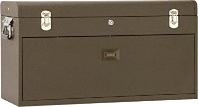 Kennedy Manufacturing 526B 8-Drawer Machinist's Chest with Friction Slides, Brown Wrinkle