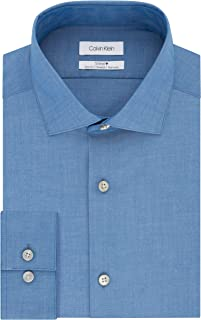 Calvin Klein Men's Dress Shirt Non Iron Stretch Slim Fit
