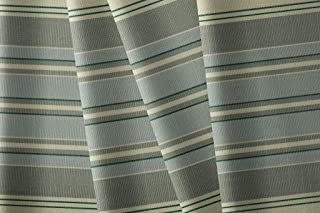 Acryee Marine & Awning Stripe Patterns   9oz High Performance Outdoor Acrylic Water Resistant Canvas Fabric, 60 Striped Pa...