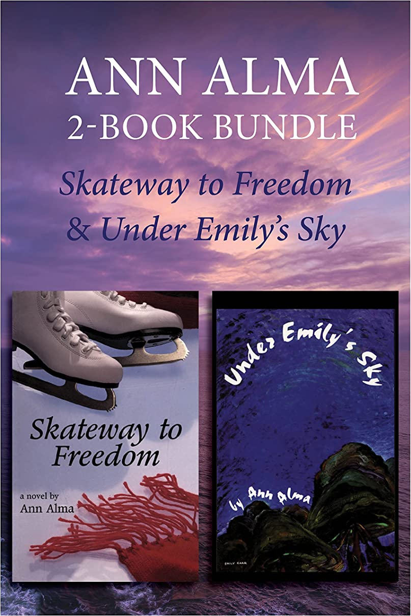 Ann Alma Children's Library 2-Book Bundle: Skateway to Freedom / Under Emily's Sky (English Edition)