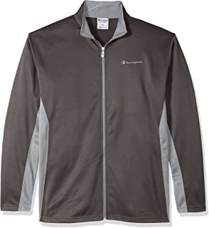 Champion Men's Big and Tall Full C-Vapor with Side Panel Contrast Zip