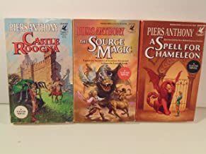 Piers Anthony Xanth Series - A Spell for Chameleon, The Source of Magic, Castle Roogna