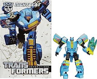 Transformers Generations Deluxe Class Nightbeat Figure