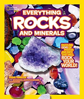Everything Rocks and Minerals: Dazzling gems of photos and info that will rock your world (Everything);Everything