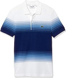 [ラコステ] ポロシャツ [公式] レギュラーフィット Made In Franceオーガニックコットンピケカラーブロックポロシャツ (半袖) メンズ PH5070L