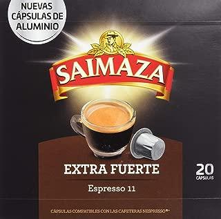 Café Saimaza Espresso Extra Fuerte 20 cápsulas