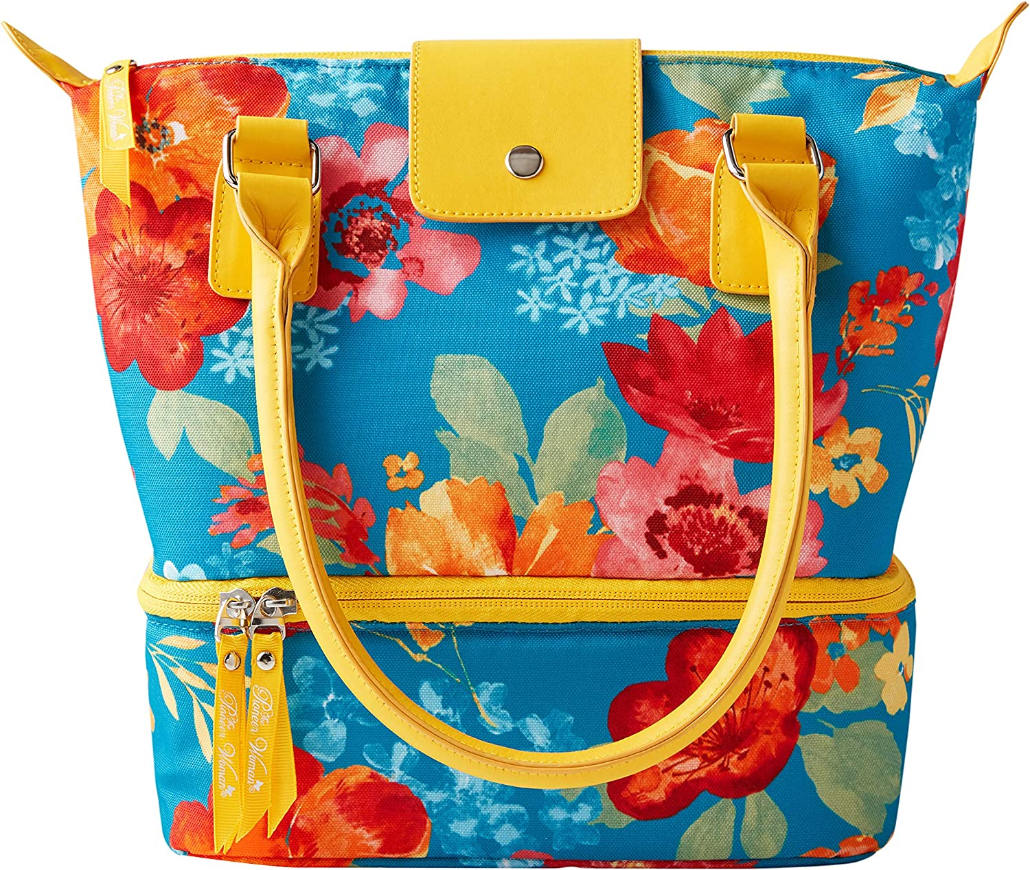 The Pioneer Woman Insulated 3 Piece Lunch Kit (Classic Charm) Wildflower Whimsy