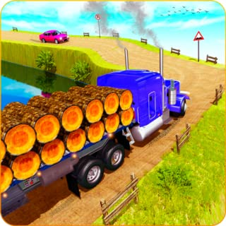 Uphill Euro Truck Driver Simulator 2020: Offroad Cargo Transport Park and Drive Adventure Simulation Game free on Christmas