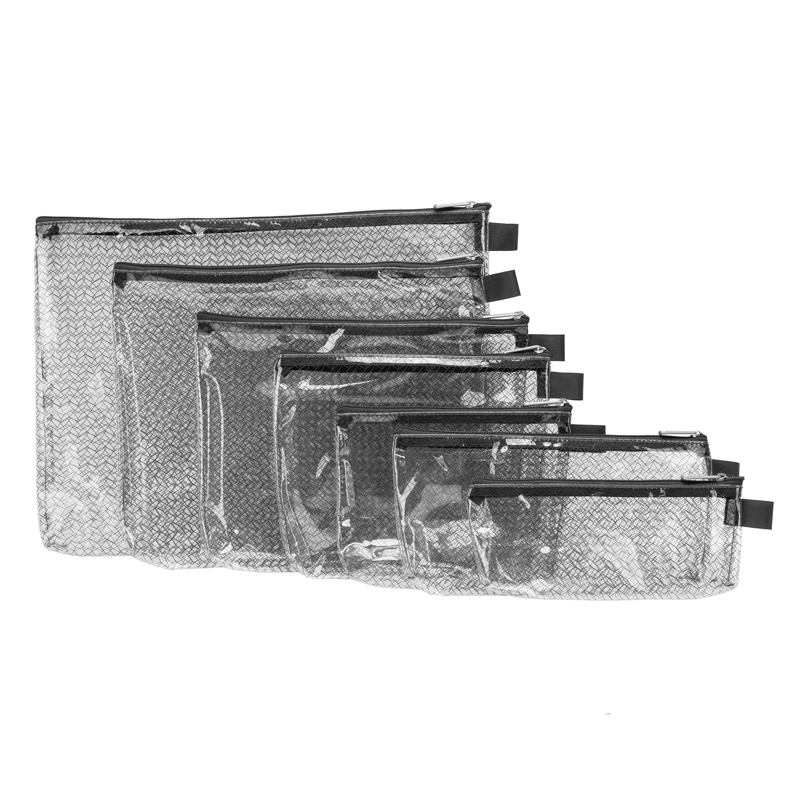Travelon Packing Envelopes Clear Assorted