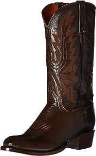 حذاء رجالي برقبة طويلة من Lucchese Bootmaker Carson-Ant Walnut Lonestar