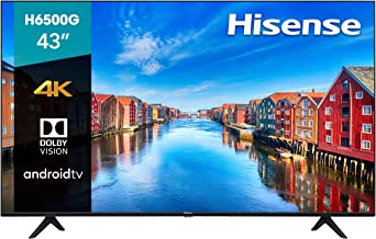 Sponsored Ad - Hisense 43-Inch Class H6570G 4K Ultra HD Android Smart TV with Alexa Compatibility | 2020 Model