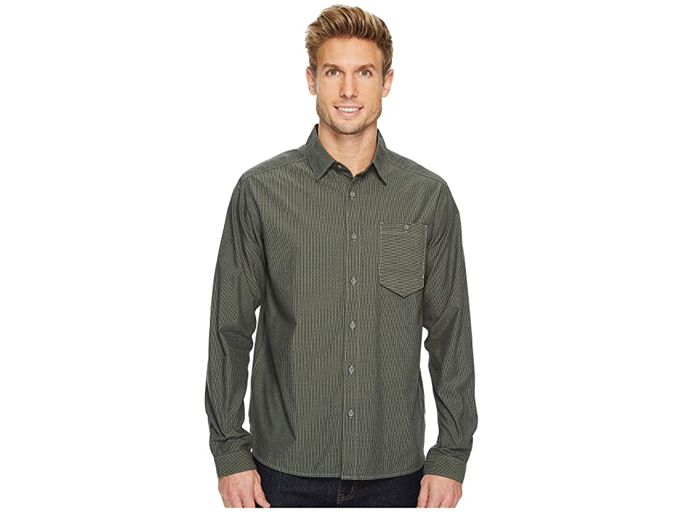 Mountain Hardwear Foreman Long Sleeve Shirt (Green Fade) Men