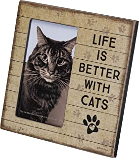 Plaque Frame - Life Is Better With Cats