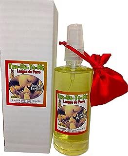 Tied-on-to-me (Aka Dog's Tongue or Tied-up Macho) Perfume W/pheromones & Amulet for Rituals & Magic - Perfume C/feromonas & Amuleto, Lengua De Perro (Amarra Macho O Dominante), Para Rituales Y Magia
